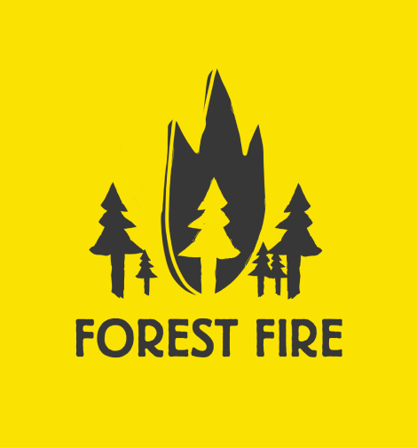 forest fire logo